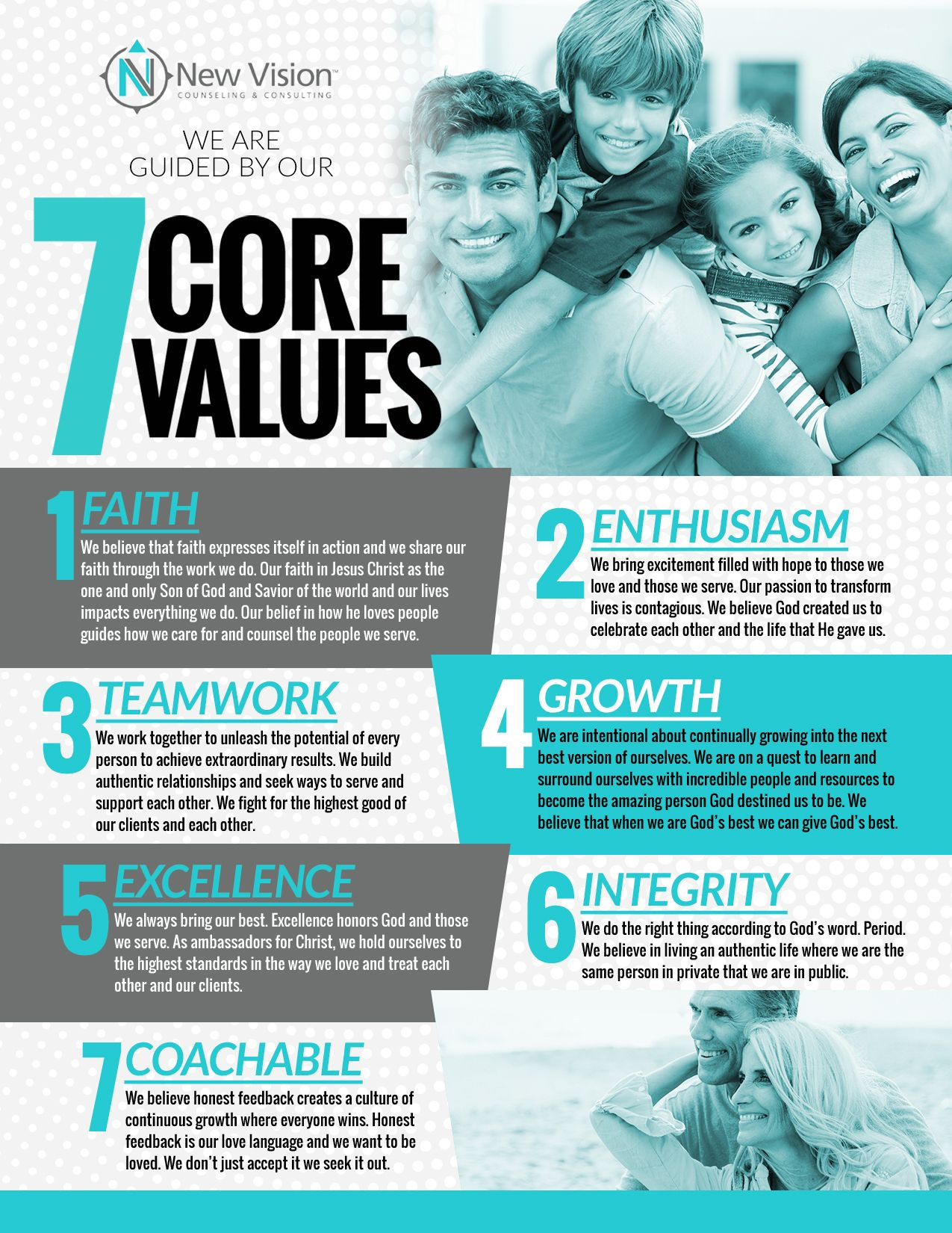 Marriage Counselor Edmond 7 Core Values NewVisionCounseling