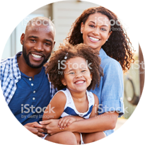Https Www.istockphoto.com Photo Young Black Family Embracing Outdoors And Smiling At Camera Gm947854280 258794806